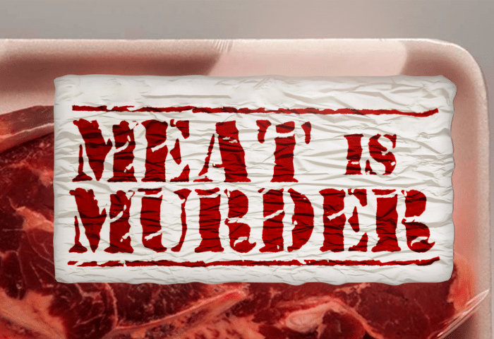 Meat is Murder horizontal poster